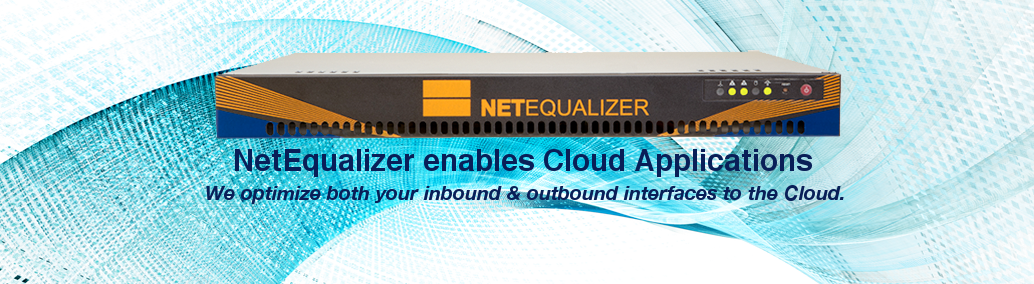 NetEqualizer is Cloud Enabled
